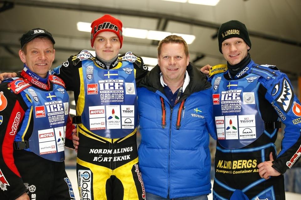 ISG , Inzell , 2017, Finale Team , Groupe , Sweden