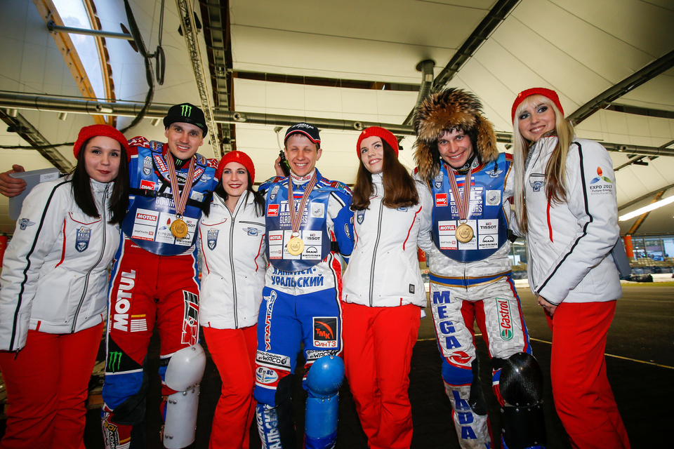 ISG , Inzell , 2017, Finale Team , Podium , Russia