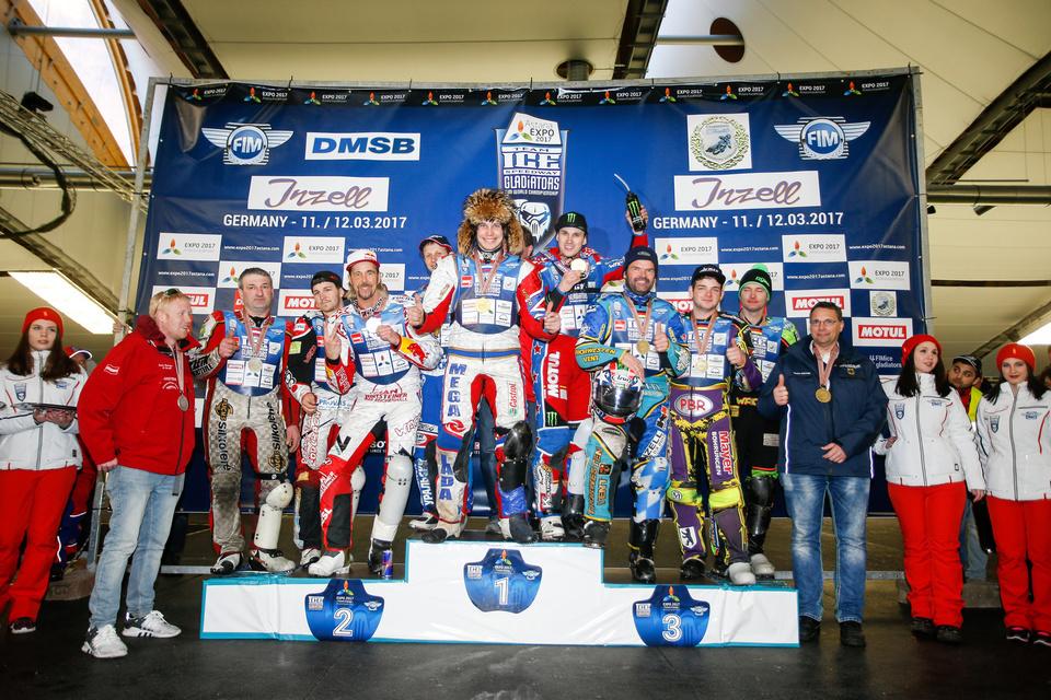 ISG , Inzell , 2017, Finale Team , Podium