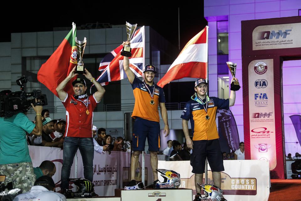 2017 FIM Cross-Country Rally World Championship - Qatar Rally