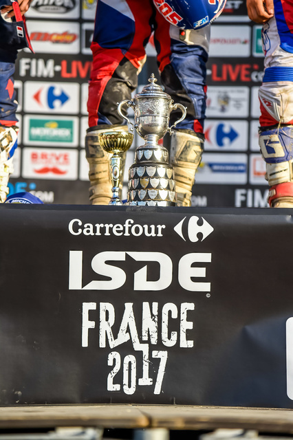 JUNIOR - PODIUM FIM ISDE 2017 Brive