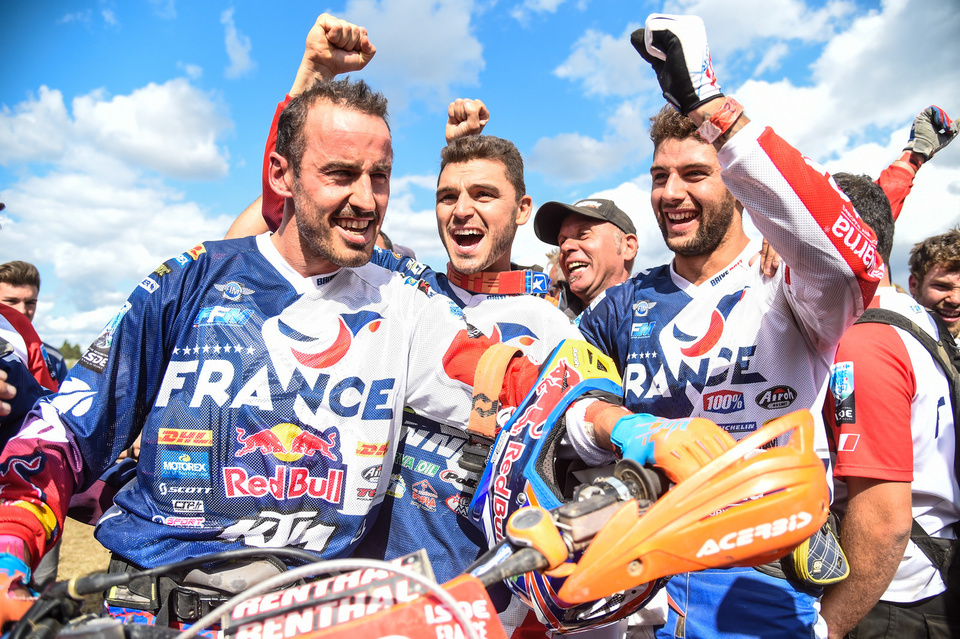Team FRANCE - JUNIOR FIM ISDE 2017 Brive