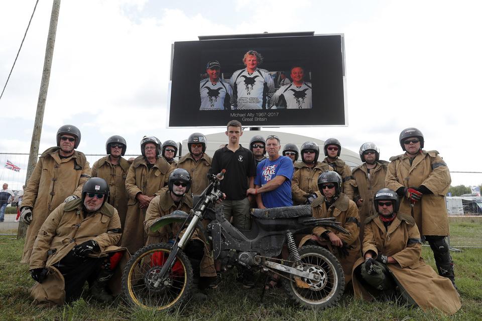 Michael Alty Tribute - FIM ISDE 2017 Brive