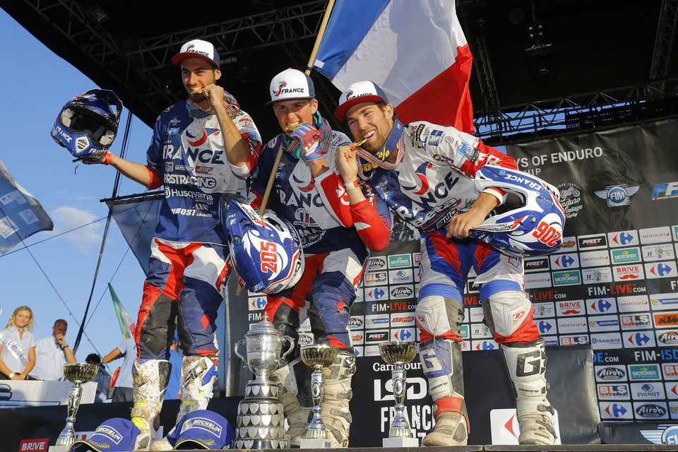 France Junior - FIM ISDE 2017 Brive