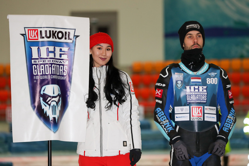 ISG Finale 1 Astana Alau  Day 2 Umbrella girls Lukoil