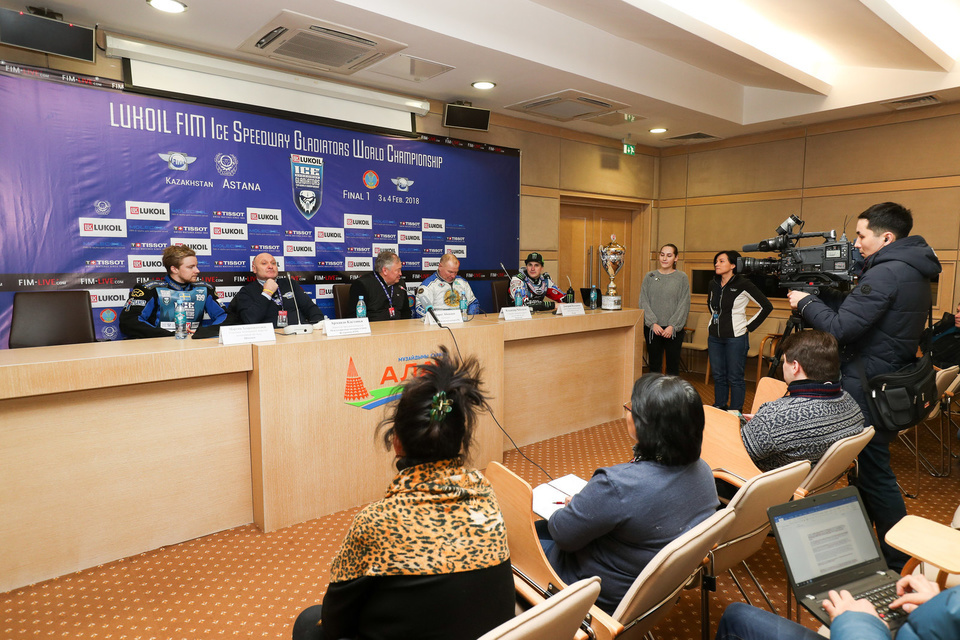 ISG Finale 1 Astana Alau  Day 2 Press conference