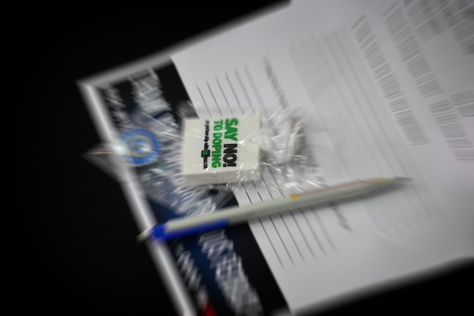 Divers  GP Qatar 2018 (Circuit Losail) 16-18.3.2018   PSP/ Lukasz Swiderek  www.photoPSP.com  Anti-doping Briefing riders MotoGP - Doha (QAT)