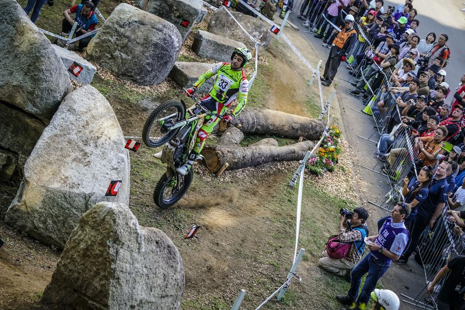 33 Jorge CASALES – Vertigo FIM TRIAL 2018 Motegi