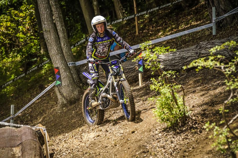 406 Caroline MOREON – Sherco FIM TRIAL 2018 Motegi