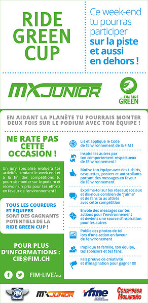 Flyer RIde Green Cup - French Version