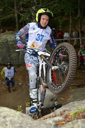 Jack PRICE – Gas Gas FIM TRIAL 2015 Stepping Stones