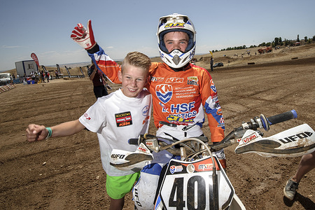 2015 Junior Motocross World Championship El Molar, Spain -18-19 July