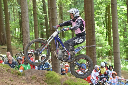 Donna FOX – Sherco FIM WOMEN'S TRIAL 2015 Sokolov