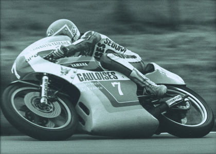 1978 Road Racing GP250 Sarron Christian FRA Yamaha