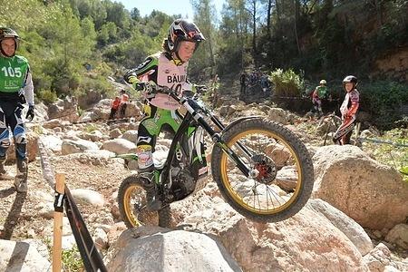 Theresa BAUML – Ossa FIM WOMEN'S TRIAL 2015 Tarragona