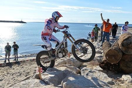Sandrine JUFFET – JGas FIM WOMEN'S TRIAL 2015 Tarragona