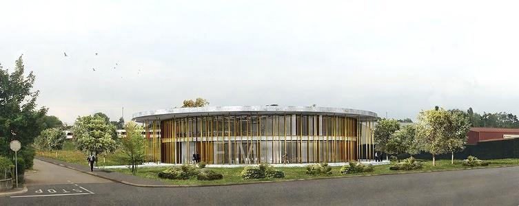 New FIM Headquarters in Mies, Switzerland