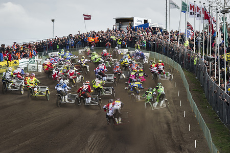 Round one of the 2016 Sidecar Motocross World Championship -09-10 April