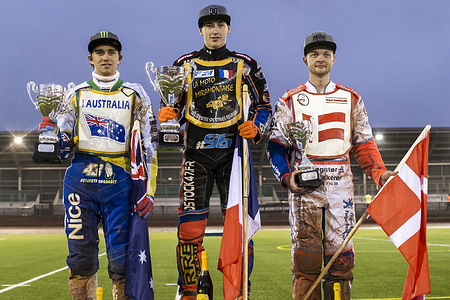 Qualifying Round 3 of the 2016 Speedway World Championship Under 21 - Manchester, GBR - 21 May