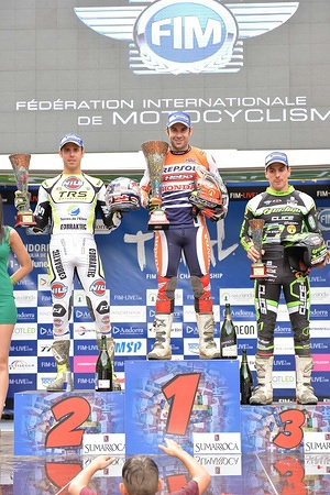 TrialGP Podium FIM TRIAL 2016 Sant Julia