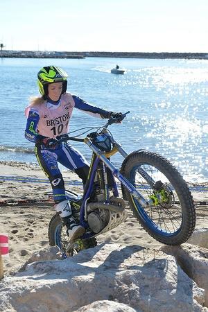 Emma BRISTOW – Sherco FIM WOMEN'S TRIAL 2015 Tarragona