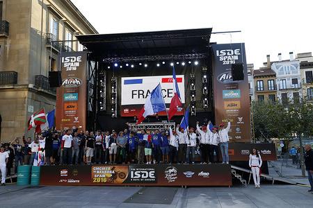 France FIM ISDE 2016 Navarra