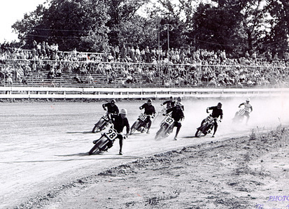 1953 Dirt Track Dirt Track competition USA