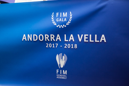 Press Conference in Andorra la Vella of the 2017 FIM General Assembly and FIM Gala, 6 March