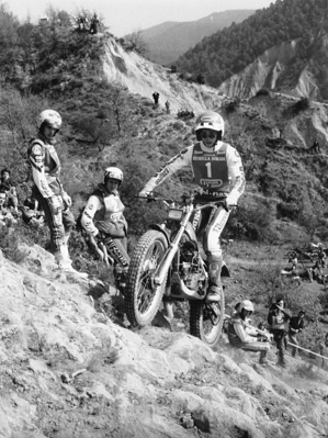 1984 Trial Lejeune Eddy BEL Honda World Champion