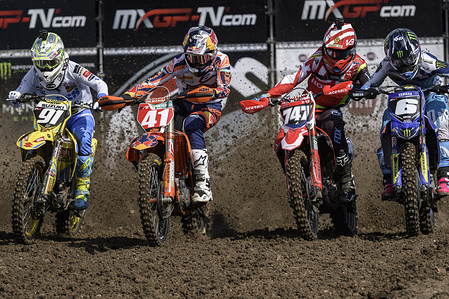 Round eight of the 2017 MXGP/MX2 Motocross World Championship -20-21 May