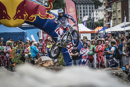 502 Bastien HIEYTE - Electric Motion FIM TRIAL 2017 Lourdes