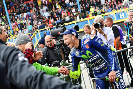 Valentino ROSSI ITA  Movistar Yamaha MotoGP  YAMAHA MotoGP   GP Assen 2017 (Circuit Assen) 23-25.06.2017   PSP/ Lukasz Swiderek  www.photoPSP.com 2017 FIM Grand Prix World Championship - Assen (NED)