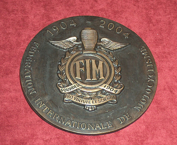 2004_FIM Centenary Celebration Medal
