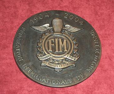 2004_FIM Centenary Celebration Medal