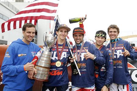 USA Trophy -  FIM ISDE 2016 Navarra