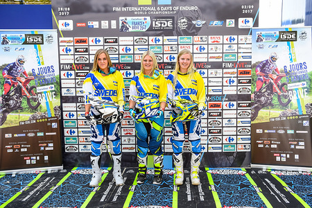 Team SWEDEN - WOMEN FIM ISDE 2017 Brive