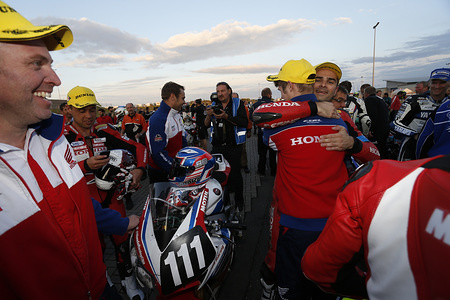 8 H D' OSCHERSLEBEN 2014 TEAM HONDA RACING