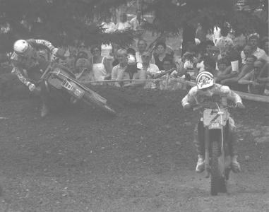 200010 - 1986 - Motocross - GP500 - Malherbe André (2), Thorpe Dave (1) - Markelo (NED) - Honda