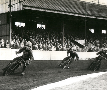 500010 - 1940, Speedway wartime competitions in Bellevue, Great Britain
