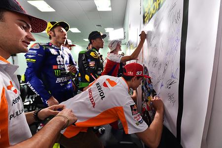 Dani PEDROSA SPA  Repsol Honda Team  HONDA MotoGP  GP Qatar 2018 (Circuit Losail) 16-18.3.2018   PSP/ Lukasz Swiderek  www.photoPSP.com  Anti-doping Briefing riders MotoGP - Doha (QAT)