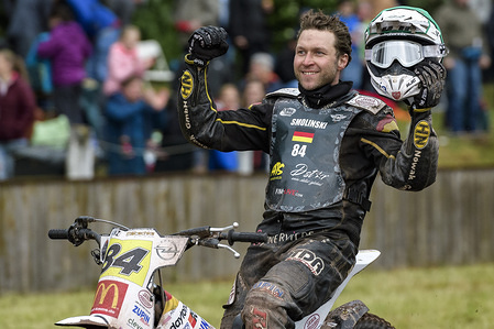 Final 1 of the 2018 Long Track World Championship, Herxheim, Germany -10 May