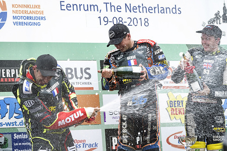 Final 4 of the 2018 Long Track World Championship, Eenrum, Netherlands -19 August