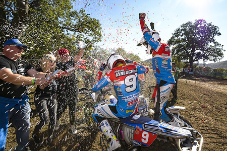 Round Eleven of the 2018 FIM Sidecar Motocross World Championship, Roggenburg, Switzerland - 25-26 August