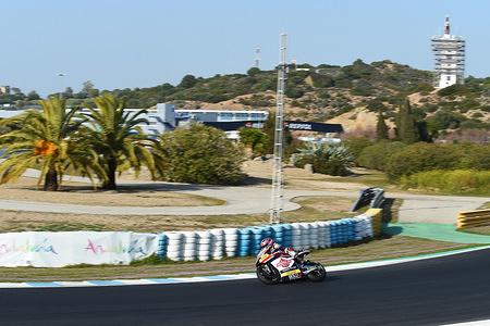 SAM LOWES GBR FEDERAL OIL GRESINI Moto2 KALEX Moto2  Test Jerez 2019 (Circuit Jerez) 21-22.02.2018 photo: Lukasz Swiderek www.photoPSP.com 2019 FIM MotoGP World Championship - Tests, Jerez (SPA)