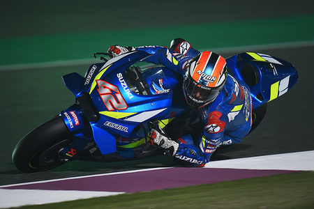 ALEX RINS SPA  TEAM SUZUKI ECSTAR  SUZUKI MotoGP  Test Doha 2019 (Circuit Losail) 23-25.02.2019 photo: Lukasz Swiderek www.photoPSP.com 2019 FIM MotoGP World Championship - Tests Doha (QAT)