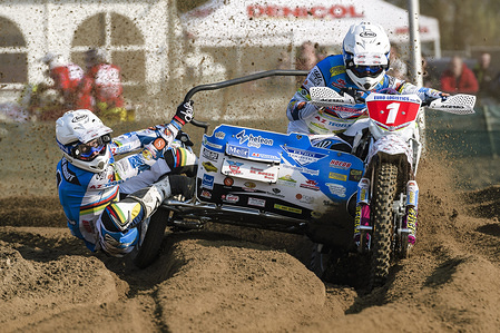 Round One of the 2019 FIM Sidecar Motocross World Championship - Lommel, Belgium, BEL -06-07 April