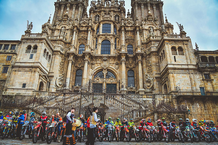 2019 Ambience at the EnduroGP in Santiago de Compostela, Spain