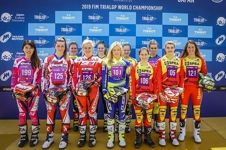 2019 FIM TrialGP-Riders photo shooting-TrialGP Women TrialGP 2019 Gouveia Portugal 13-14 July Round 5 Qualification