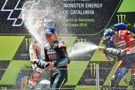 FABIO QUARTARARO FRA  PETRONAS YAMAHA SRT  YAMAHA MotoGP  GP Catalunya 2019 (Circuit Barcelona) 14-16.06.2019 photo: Lukasz Swiderek www.photoPSP.com @photopsp_lukasz_swiderek 2019 FIM MotoGP World Championship, Barcelona (Spain), 15-16 June