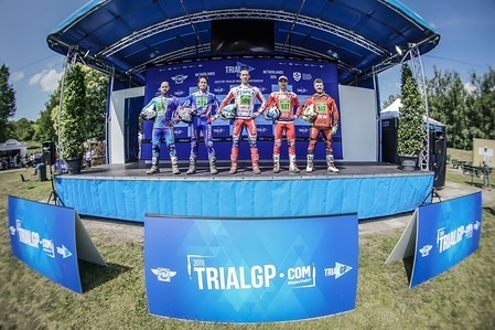 TrialGP 2019 Zelhem Netherlands 22-23 June Round 3, Trial-E, Joan Cordon, Kenichi Kuroyama, Gianluca Tournour, Albert Cabestany, Danny Crosset TrialGP 2019 Gouveia Portugal 13-14 July Round 5 Qualification